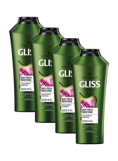 Gliss Bio-Tech Güçlendirici Şampuan 360 Ml 4'Lü Renksiz